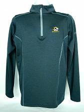 Buy Mizzou University Tigers Mens Under Armour 1/2 Zip Pullover Small Gray