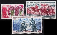 Buy ANDORRA FRANZÖSISCH [1963] MiNr 0179-81 ( O/used )