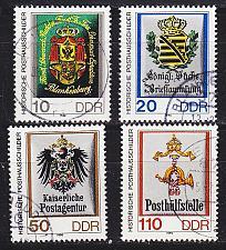 Buy GERMANY DDR [1990] MiNr 3302-05 ( OO/used ) Briefmarken