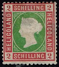 Buy Heligoland #3 Queen Victoria - Reprint; Unused (2Stars) |HEL03R-02XRP