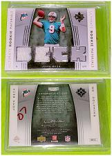 Buy NFL John Beck Miami Dolphins 2007 Upper Deck Ultimate Dual Rookie Jersey Mint