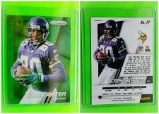 Buy NFL CHRIS CARTER MINNESOTA VIKINGS 2014 PANINI PRIZM GREEN REFRACTOR #97 MNT