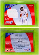 Buy Nfl Delando Johnson 2013 Upper Deck USA Football Game-worn Jersey Mint