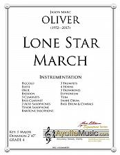 Buy Oliver - Lone Star March, The