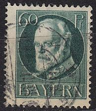 Buy GERMANY Bayern Bavaria [1916] MiNr 0102 II A ( O/used )