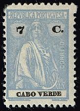 Buy Cape Verde #183B Ceres; Unused (3Stars) |CPV0183B-03XRS