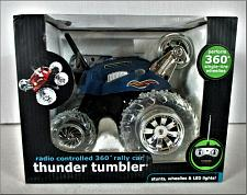 Buy THUNDER TUMBLER 2012 The Black Series radio controlled 360 degree car NEW IN BOX