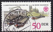 Buy GERMANY DDR [1986] MiNr 3029 ( OO/used ) Schiffe