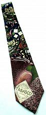 Buy Tabasco Hot Sauce Oysters Crawdads Garlic Food Peppers Novelty 100% Silk Tie