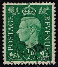 Buy Great Britain #235 King George VI; Used (0.25) (4Stars) |GBR0235-10XRS