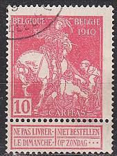 Buy BELGIEN BELGIUM [1910] MiNr 0088 I ( O/used )