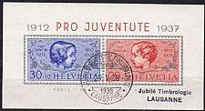 Buy SCHWEIZ SWITZERLAND [1937] MiNr 0318-19 Block 3 ( O/used )