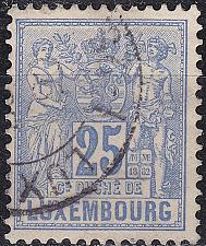 Buy LUXEMBURG LUXEMBOURG [1882] MiNr 0052 D ( O/used )