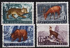 Buy JUGOSLAVIA [1954] MiNr 0738 ex ( O/used ) [01] Tiere