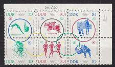 Buy GERMANY DDR [1964] MiNr 1039-44 6er ( **/mnh ) [01] Olympiade