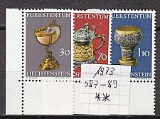 Buy LIECHTENSTEIN [1973] MiNr 0587-89 ( **/mnh ) Kunst