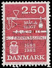 Buy Denmark #740 Weights & Measures Ordinance; Used (3Stars)  DEN0740-05XBC