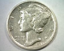 Buy 1936-D MERCURY DIME EXTRA FINE / ABOUT UNCIRCULATED XF/AU ORIGINAL COIN EF/AU