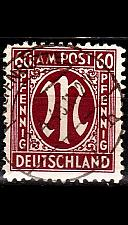 Buy GERMANY Alliiert AmBri [1945] MiNr 0033 b A ( O/used ) [01]