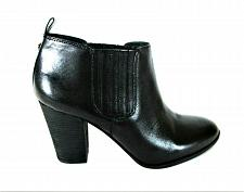 Buy Michael Kors Black Leather Slip On Ankle Booties Heels Shoes Women's 8 M (SW9)
