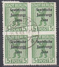 Buy GERMANY Alliiert SBZ [Allgemein] MiNr 0200 B ( O/used ) [01] Paar