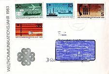 Buy GERMANY DDR [1983] MiNr 2770-73 ( Brief ) Post