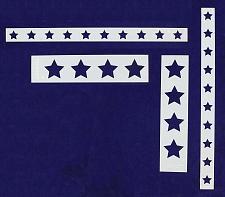 Buy Star Border 4 Piece Stencil Set-Border-14 Mil -Painting /Crafts/ Templates