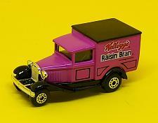 Buy KELLOGG'S RAISIN BRAN OFFICIALLY LICENSED MATCHBOX MODEL A FORD DIECAST MNT
