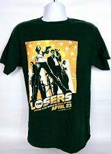 Buy The Losers Movie Men's T-Shirt Medium Black Orange Graphic Short Sleeve