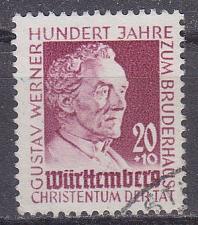 Buy GERMANY Alliiert Franz. Zone [Württemberg] MiNr 0048 ( O/used )