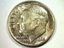 Buy 1963 ROOSEVELT DIME CHOICE UNCIRCULATED CH. UNC. SUPER IRRADIATE OBVERSE COLOR