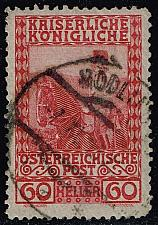 Buy Austria #122 Franz Josef on Horseback; Used (0.25) (2Stars) |AUT0122-11XBC