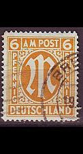 Buy GERMANY Alliiert AmBri [1945] MiNr 0013 D ( O/used )