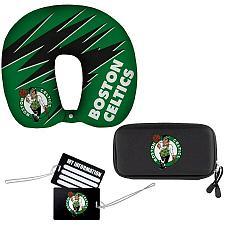 Buy New Boston Celtics The Northwest Company Four-Piece Travel Set Fast Free Shipp