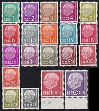 Buy GERMANY Saar [1957] MiNr 0380-99 ( **/mnh )
