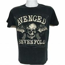 Buy Avenged Sevenfold Hail To The King Concert Band T-Shirt Small Winged Skull