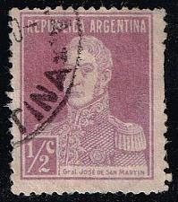 Buy Argentina #340 Jose de San Martin; Used (0.30) (1Stars) |ARG0340-03XBC