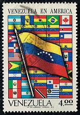 Buy Venezuela #997 Flag and Flags of America; Used (4Stars) |VEN0997-01