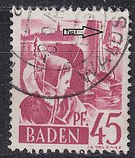 Buy GERMANY Alliiert Franz. Zone [Baden] MiNr 0009 yv I ( O/used ) [01]