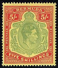 Buy Bermuda #125a King George VI; MNH (4Stars) |BER0125a-02XRP