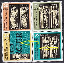 Buy GERMANY DDR [1983] MiNr 2808 4er F22 ( **/mnh ) Plattenfehler