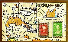 Buy KUBA CUBA [1985] MiNr 2972 Block 92 ( O/used ) Briefmarken