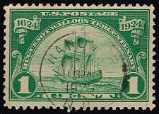 Buy US #614 Huguenot-Walloon Tercentenary; Used (4Stars) |USA0614-03XRP