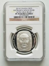 Buy 2014 $25 CANADA MATRIARCH MOON MASK ULTRA HIGH RELIEF