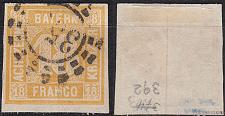 Buy GERMANY Bayern Bavaria [1850] MiNr 0007 ( O/used ) [01]