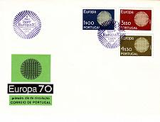 Buy PORTUGAL [1970] MiNr 1092-94 ( FDC ) CEPT