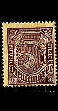 Buy GERMANY REICH Dienst [1920] MiNr 0033 a ( **/mnh )
