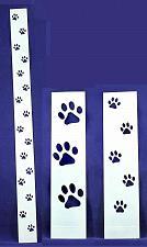Buy Dog Paw Tracks 3 Piece Stencil Set-Border-14 Mil -Painting /Crafts/ Templates