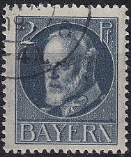 Buy GERMANY Bayern Bavaria [1916] MiNr 0110 A ( O/used )
