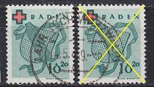 Buy GERMANY Alliiert Franz. Zone [Baden] MiNr 0042 A ( O/used ) [01]